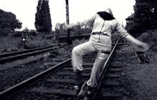 Udo Hesse: Gleisdreieck. Fotos aus einem Freiraum